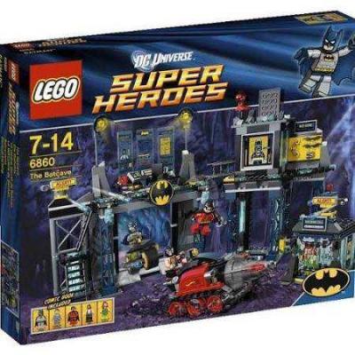 Lego Super Heroes 6860 - Batcave