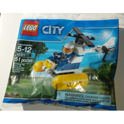 CITY Swamp Police Helicopter (30311) Free shipping