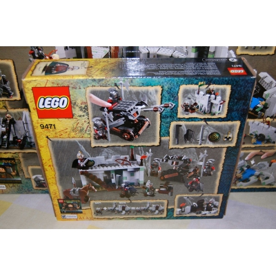 The Lord of the Rings The Battle of Helm's Deep 9474  AND  Urak-Hai Army 9471 Lego New in sealed box