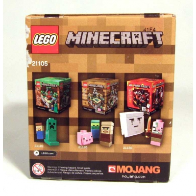 Minecraft 21105 - The Village - New with slight box damage - USA shipping