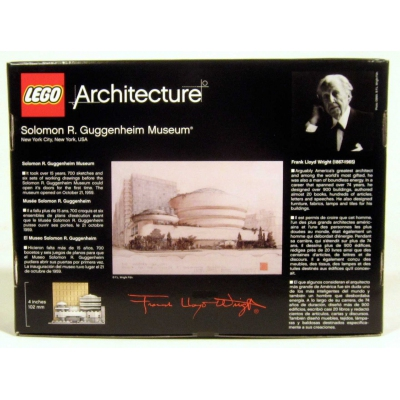 Guggenheim Museum - Architecture 21004 - New - USA shipping