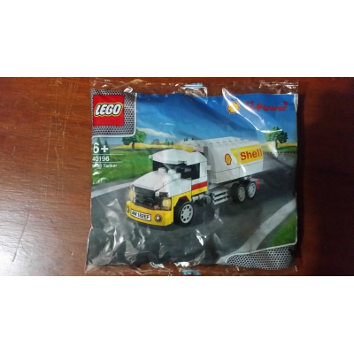 Lego Promotion Ferrari 40196-1: Shell Tanker RARE Asia exclusive retired polybag