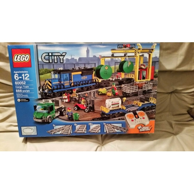 LEGO City Cargo Train 60052 - NEW in Sealed Box