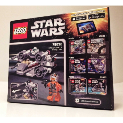Brand New LEGO® Star Wars™ Microfighters™ X-Wing™ Fighter 100% -MISB-