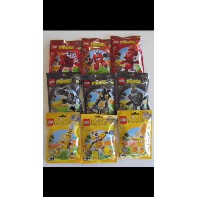 lego Mixels Series 1 complete 9 sealed bags