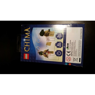 Chima Cragger LEDLite Keychain Key Light  Model # LGL-KE36 Unopened MIB