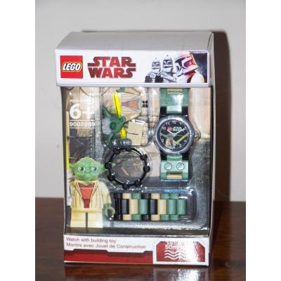 NIB LEGO Watch YODA 9002069 Star Wars the Clone Wars minifigure lightsaber