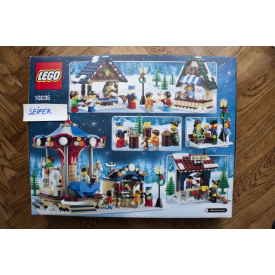 10235 Winter Village Market 10235 - New Sealed