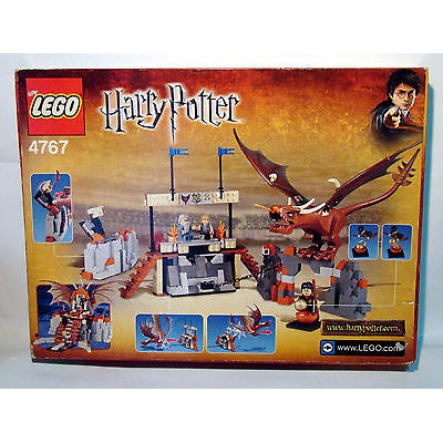 Lego Harry Potter Goblet of Fire Harry and the Hungarian Horntail (4767)