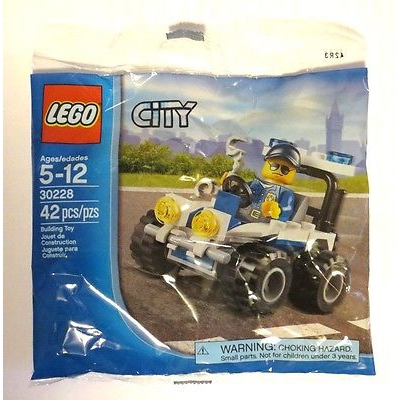 LEGO CITY SET 30228 POLICE ATV RETIRED POLYBAG