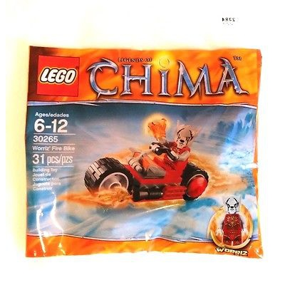 LEGO LEGENDS OF CHIMA SET 30265 WORRIZ' FIRE BIKE POLYBAG