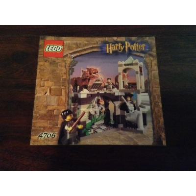 Harry Potter 4706 Forbidden Corridor 100% Complete Instructions & Figs