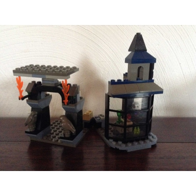 Harry Potter 4720 Knockturn Alley 100% Complete Instructions & Figs