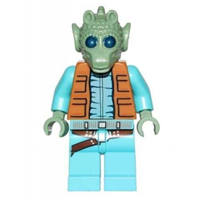 Lego Minifigure Star Wars Greedo (From Set 75052)