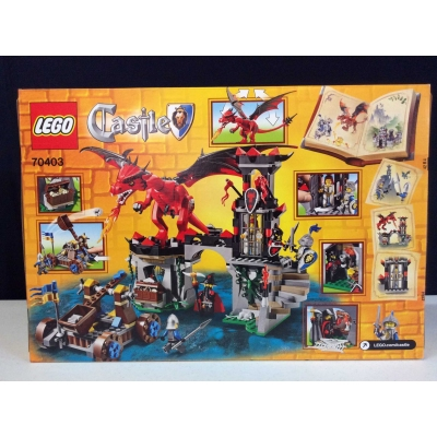 LEGO Dragon Mountain - theme Castle 70403 N.I.B
