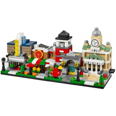 Toys R Us Bricktober Mini Modular set - (40180 Theater, 40181 Pizza, 40182 Fire Station, 40183 Town)