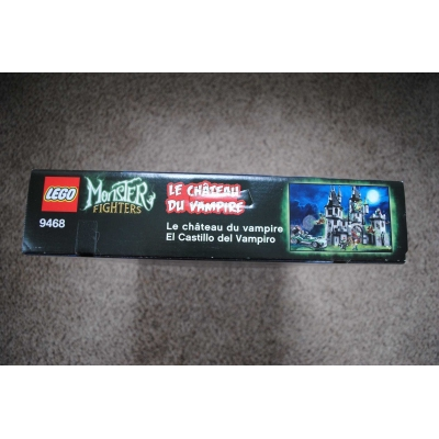 Lego Monster Fighters Vampyre Castle 9468 - NEW, SEALED, RETIRED, MINT CONDITION