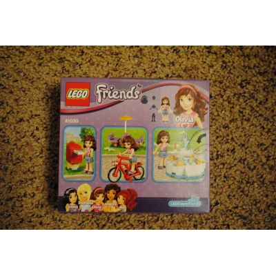 Friends Olivia's Ice Cream Bike (41030) - BRAND NEW, SEALED, MINT