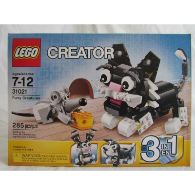 LEGO Creator 31021 Furry Creatures 3 in 1 Cat, Puppy, and more