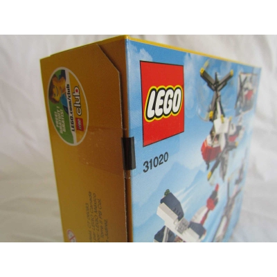LEGO Creator 31020 Twin Blade Adventures 3 in 1, Biplane, Helicopter and more