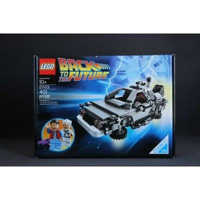 Lego 21103 The DeLorean Time Machine - NEW