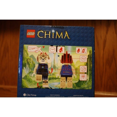 Lego Legends of Chima Laval Alarm Clock 9000560 NEW