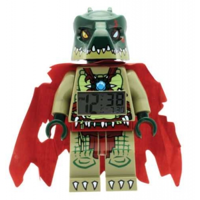 LEGO Legends of CHIMA CRAGGER CROC movable wrists arms legs head Alarm Clock NEW
