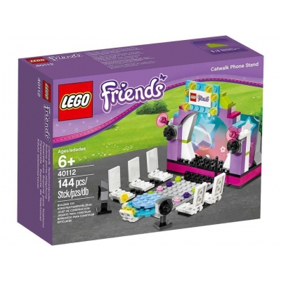 New, sealed, LEGO Friends Model Catwalk Phone Stand 40112 (144 pcs) Fashion