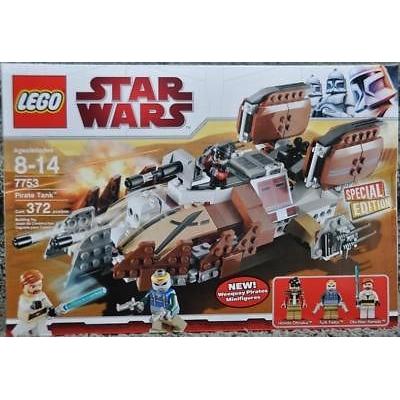 Lego 7753 Star Wars Pirate Tank New Box NISB 372 Pieces