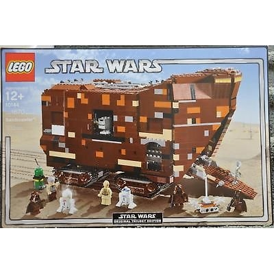 Lego 10144 Star Wars Sandcrawler New Good Box NISB