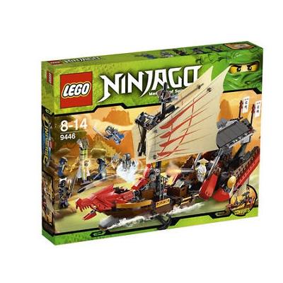 Lego Ninjago Destiny's Bounty 9446 Ship 684 Pieces New Factory Sealed