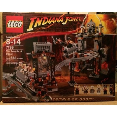 LEGO 7199 Indiana Jones The Temple of Doom New & Sealed 652 Pieces Retired