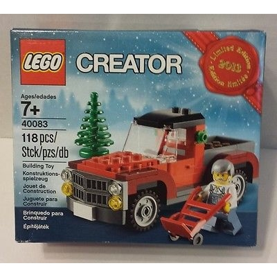 2013 LEGO EXCLUSIVE LIMITED EDITION HOLIDAY SET 40083 NEW AND SEALED