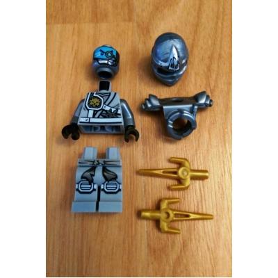 Ninjago Titanium Zane minifigure (70748)