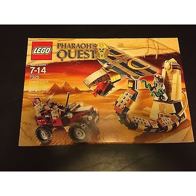 LEGO 7325 Pharaoh's Quest - Cursed Cobra Statue NEW, SEALED!
