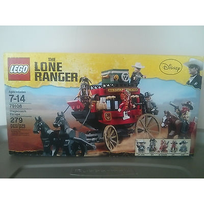 LEGO Lone Ranger - Stagecoach Escape (79108) - New in sealed box