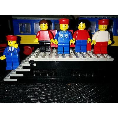 LEGO Trains Push-Along Passenger Steam Train (7710)