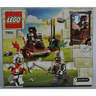 7950-1: Knight's Showdown New in Factory Sealed Box