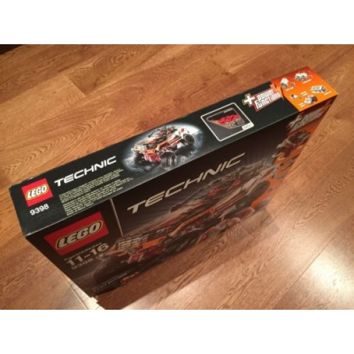 LEGO Technic 4X4 Crawler (9398) Hard To Find