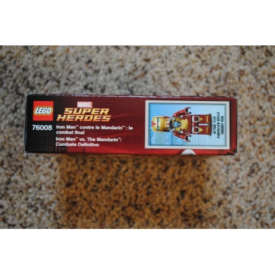 Marvel Super Heroes Iron Man vs.Mandarin Showdown 76008 - NEW, MINT, SEALED
