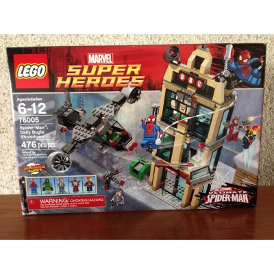 Spiderman Daily Bugle Showdown - Marvel Super Heroes 76005