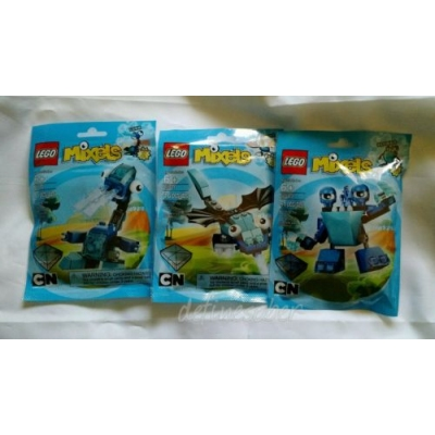 LEGO MIXELS Series 2 Blue Frosticons  * RETIRED *