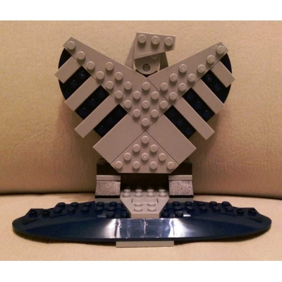 Marvel Avengers SHIELD Stand for minifigs from Helicarrier 76042