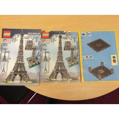 10181 Eiffel Tower w/ instructions