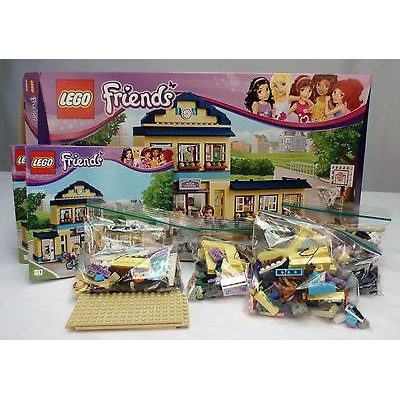 lego friends heartlake high instructions