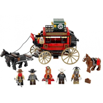 Lego 79108 Lone Ranger Stagecoach Escape - New & Sealed in Box