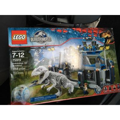 Lego Jurassic World Indominous Rex Breakout, 75919