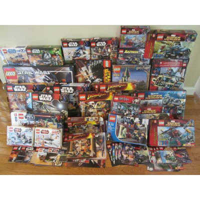 Over 100 Lego Boxes and Instructions in Near Mint Condition