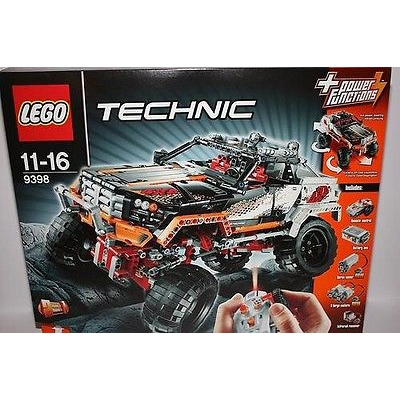 lego 9398 technic 4x4 crawler rc truck remote control by flipbricks on brick classifieds. Black Bedroom Furniture Sets. Home Design Ideas