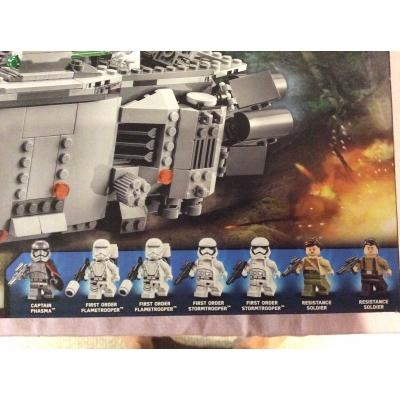 Lego Star Wars 75103 First Order Transporter NIB, Disney , 792 pcs., Captain Phasma